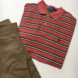 Polo by Ralph Lauren Short Sleeve, Collared, sz L